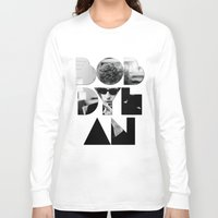 woodstock Long Sleeve T-shirts featuring Bob Dylan Font Sunglasses by Fligo