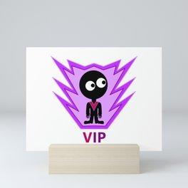 VIP Alien Visitor Mini Art Print