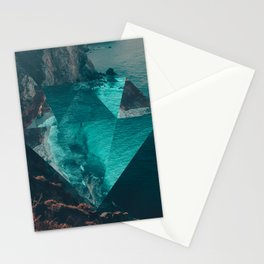 The Sea's Diamond Stationery Cards