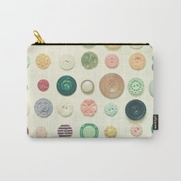 The Button Collection Carry-All Pouch