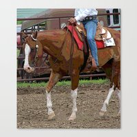 western Canvas Prints featuring Western by Angelandspot