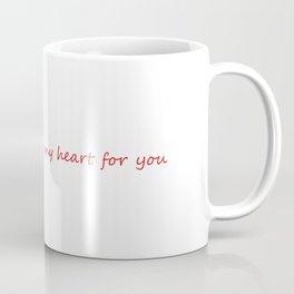 Abstract Heart Coffee Mug