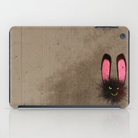 evil dead iPad Cases featuring Evil Dust Bunny by Rabassa
