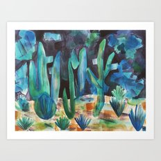 Night Desert Art Print