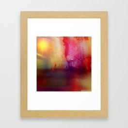 Disintegration (Falling Apart) Framed Art Print