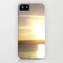 Gooselake Oregon, Reflection iPhone Case