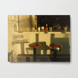 lunch breakfast Metal Print
