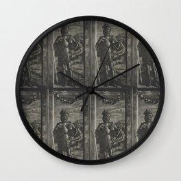 St George. Mantegna. Wall Clock