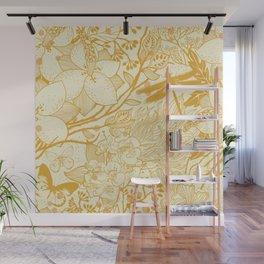 Gold Libelo Wall Mural