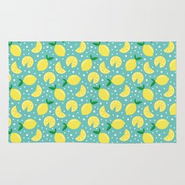 Juicy lemon pattern Rug