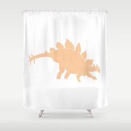 Dinomania - Stegosaurus Shower Curtain