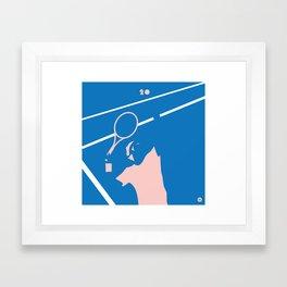 Federer 20 Commemorative Print Framed Art Print