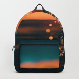 Note in a Bottle Sunset (Color) Backpack