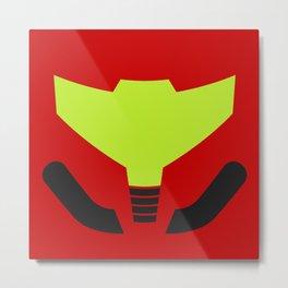 Samus' visor Metal Print