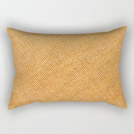 Bright hessian texture abstract Rectangular Pillow