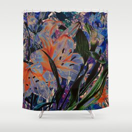FLOWERS 9161 Shower Curtain