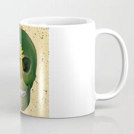 Sunflowers Skull Coffee Mug