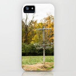 Disc Golf iPhone Case