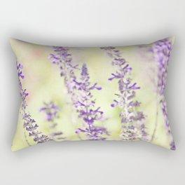 Sweet Purple Rectangular Pillow