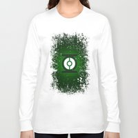 green lantern Long Sleeve T-shirts featuring Green Lantern by Some_Designs