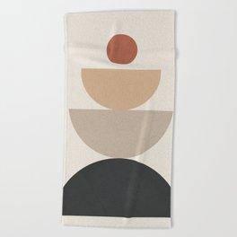 Geometric Modern Art 31 Beach Towel