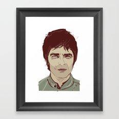 Noel Gallagher Framed Art Print