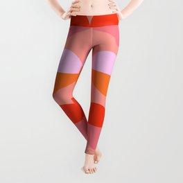 Abstraction_LOVE_KISS_Minimalism_001 Leggings