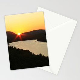 Sunrise over Lake of the Clouds Stationery Cards