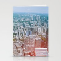 toronto Stationery Cards featuring Toronto by Sami Kelsh