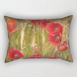 Poppies...... Rectangular Pillow