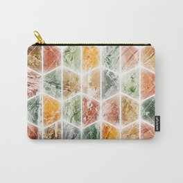 bright honeycomb Carry-All Pouch