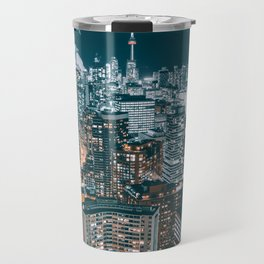Toronto by night - City at night Travel Mug