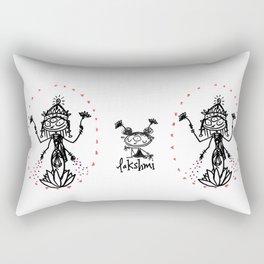 Lakshmi: Goddess of Abundance Rectangular Pillow