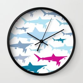 Shark Tank Wall Clock