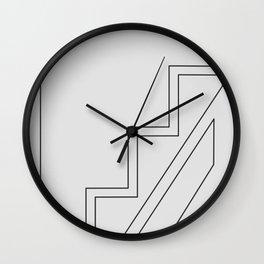 Irresistible - Geometric Print 003 Wall Clock