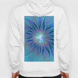 Decorative Flower Fractal Hoody