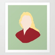 Princess Buttercup Art Print