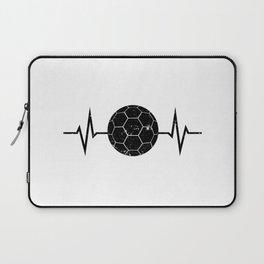 Handball Heartbeat Distressed Look Laptop Sleeve