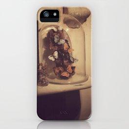 Eternal butterflies iPhone Case