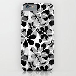 Flora Grey #society6 #buyart #decor iPhone Case