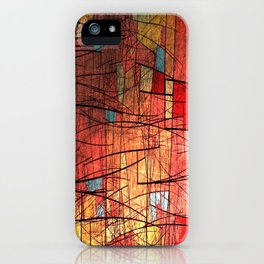 COLOR LINES iPhone Case