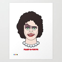Frank-N-Furter - The Rocky Horror Picture Show Art Print
