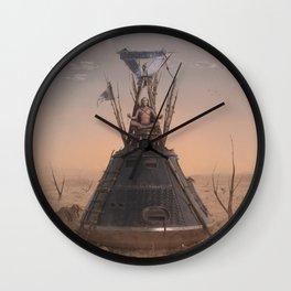 Groundliner Wall Clock