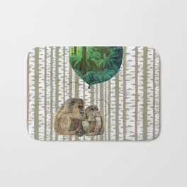 Monkey Balloon Dreams Bath Mat