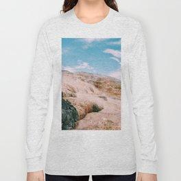 mammoth hot springs Long Sleeve T-shirt