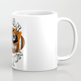 The Monster American Football Character - Cool Exclusive Design ! Coffee Mug