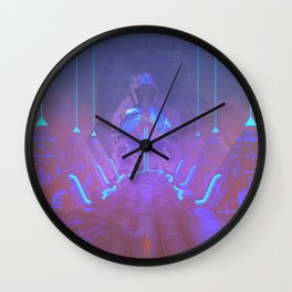 Lost Astronaut Series #05 - Star Harvester Wall Clock