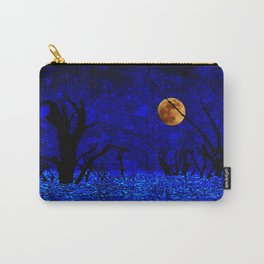 Under the Full Moon the Dead Trees Dance  Carry-All Pouch