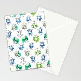 Sherlock Rorschach Wallpaper Lilies Stationery Cards
