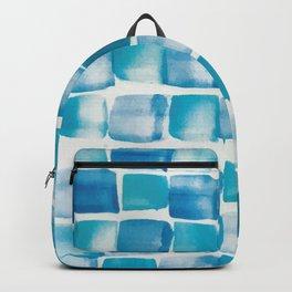 Ocean blue blocks Backpack